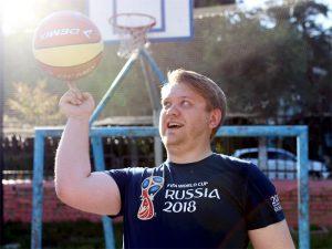 Петр Голубев: «Мечтаю стать спортивным комментатором»