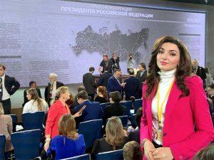 Марьям Бахтеева: «Путин молод и свеж!»